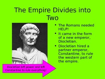 Ancient Rome Section 3 - The Fall of an Empire