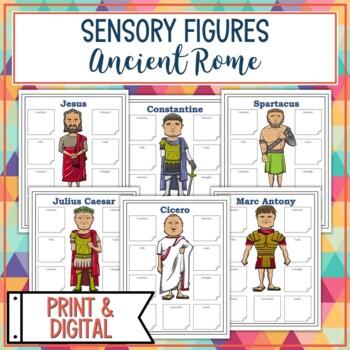 Ancient Rome Sensory Figures
