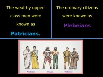 Ancient Rome Social Classes