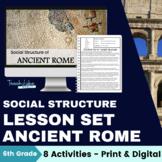 Ancient Rome Social Structure Lesson