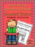 Ancient Rome - Social Studies Interactive Notebook