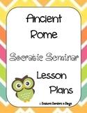 Ancient Rome Socratic Seminar Lesson Plan Pack