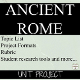 Ancient Rome project with student choice