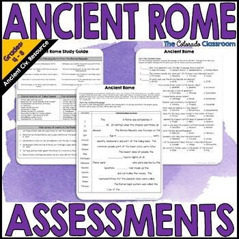Ancient Rome: Study Guide & Exam