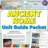 Ancient Rome Study Guide and Unit Packet