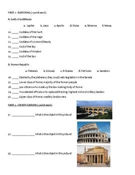 Ancient Rome Test