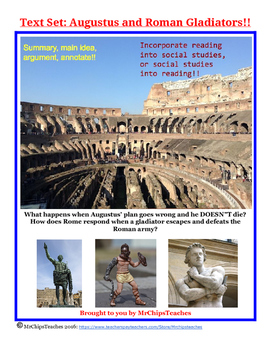 Ancient Rome - Text Set