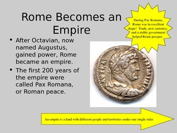 Ancient Rome Section 1 - The Rise of an Empire