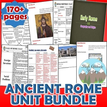 Ancient Rome Unit / Ancient Rome *Unit Bundle* (World History / Ancient History)