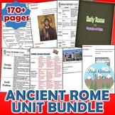 Ancient Rome Unit / Ancient Rome *Unit Bundle* (World History / Ancient History)