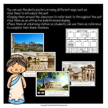Ancient Civilizations: Ancient Rome Timeline Kit