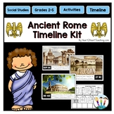 Ancient Rome Timeline and Bulletin Board Kit