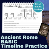 Ancient Rome BASIC Timeline Practice