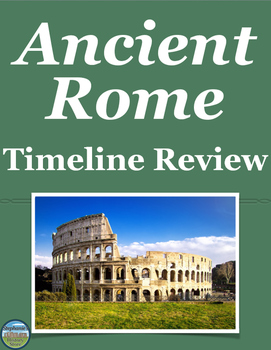 Ancient Rome Timeline Review