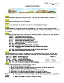 Ancient Rome Timeline Worksheet - NO PREP