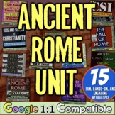Ancient Rome World History Unit | Full Unit for Roman Empire | Distance Learning