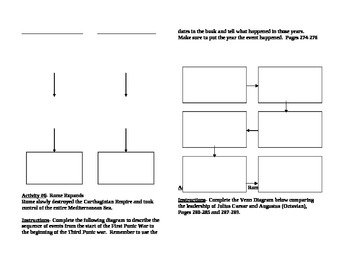 Ancient Rome Unit Activity Booklet