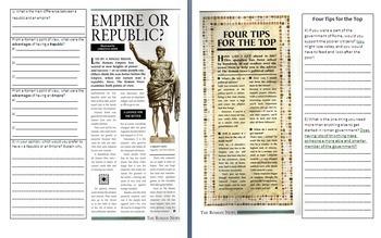 Ancient Rome Unit - Bundle of 16 Lessons
