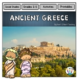 Ancient Civilizations: Ancient Greece Activity Pack Articles, Activities & More