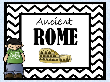 Ancient Rome Unit (Ready to Present - OVER 100 slides!)