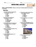 Ancient Rome Unit Test