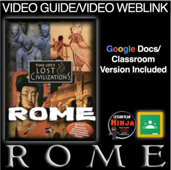 Ancient Rome Video Questions - Youtube Video Link Included!