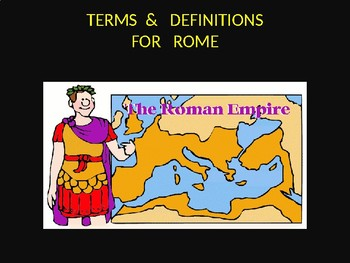 Ancient Rome Vocabulary