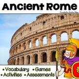 Ancient Rome Vocabulary, Activities, Assessments and Games