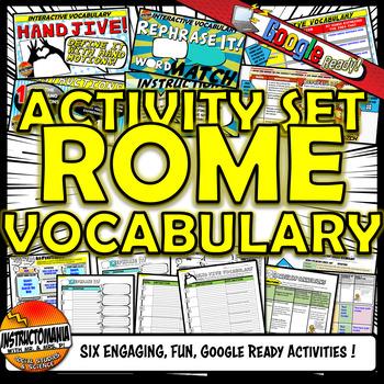 Ancient Rome Vocabulary Set Mini Bundle