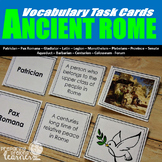 Ancient Rome Vocabulary Task Cards