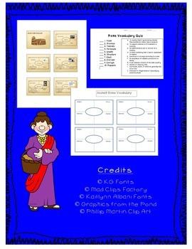 Ancient Rome Vocabulary Unit