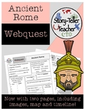 Ancient Rome Webquest Activity