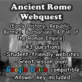 Ancient Rome Webquest (Roman Empire)