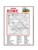 Ancient Rome Word Search