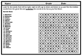 Ancient Rome, Word Search Worksheet, No Prep Sub Plan, Ancient Rome Research