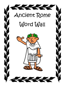 Ancient Rome Word Wall