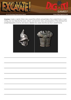 Ancient Rome Writing Activity