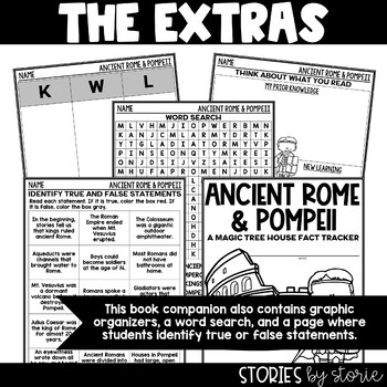 Ancient Rome and Pompeii (Magic Tree House Fact Tracker & Nonfiction Companion)