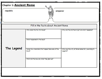 Ancient Rome and Pompeii - MTH Fact Tracker book study