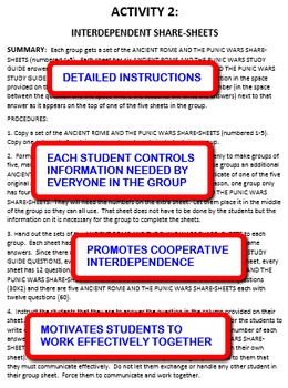 Ancient Rome and the Punic Wars: Interdependent Share-Sheets Activity