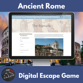 Ancient Rome - digital breakout game
