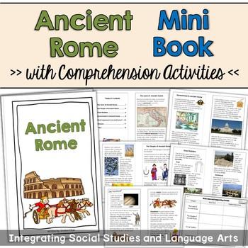 Ancient Rome Mini Book