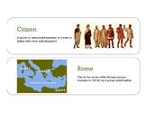 Ancient Rome visual vocabulary