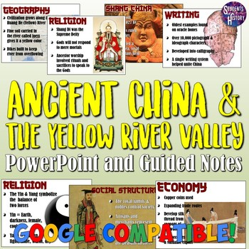 Ancient Shang China and the Yellow River PowerPoint