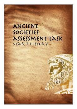 Ancient Societies Task Year 7 History