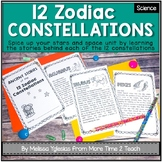 Ancient Stories of the 12 Zodiac Constellations