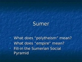 Ancient Sumer Civilization