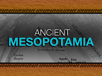 Ancient Mesopotamia PowerPoint with Guided Outline