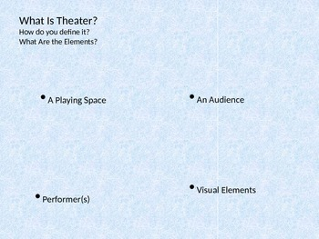 Ancient Theater, Greek Theater and Roman Theater Powerpoint