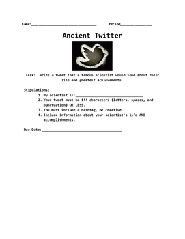 Ancient Twitter